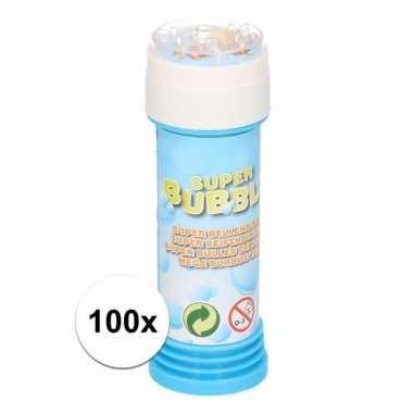 100 stuks voordelige kinder bellenblaas 50 ml
