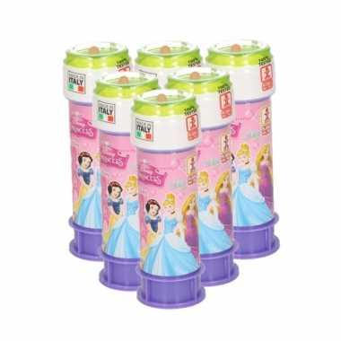 12x bellenblaas disney princess 60 ml speelgoed voor kinderen
