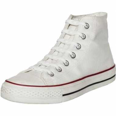 14x shoeps elastische veters wit voor kinderen/volwassenen