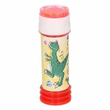 1x bellenblaas dinosaurus 60 ml speelgoed voor kinderen