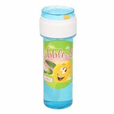 1x bellenblaas met citroengeur 60 ml speelgoed voor kinderen