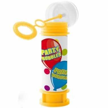 1x bellenblaas party bubbles 60 ml speelgoed voor kinderen
