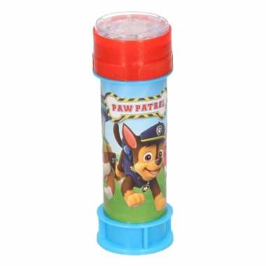 1x bellenblaas paw patrol 60 ml speelgoed voor kinderen