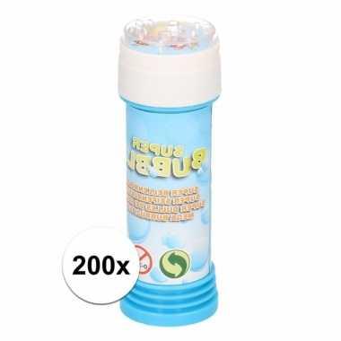 200 stuks voordelige kinder bellenblaas 50 ml