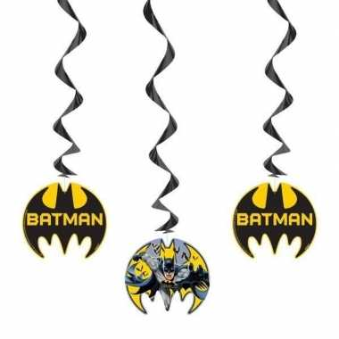 3x batman themafeest hangdecoraties