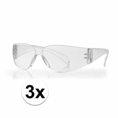 3x veiligheidsbril voor kinderen