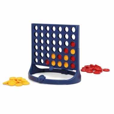 4 op een rij spel 26 cm kinderspelletjes