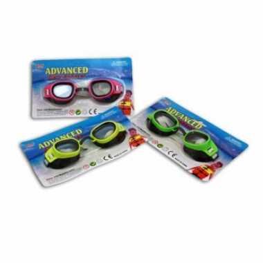 4x zwembril/chloorbril voor kinderen 3 tot 8 jaar