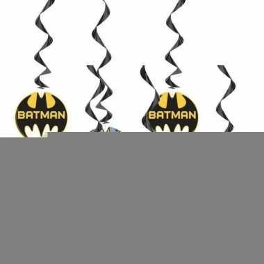 6x batman themafeest hangdecoraties