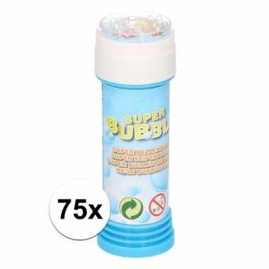 75 stuks voordelige kinder bellenblaas 50 ml