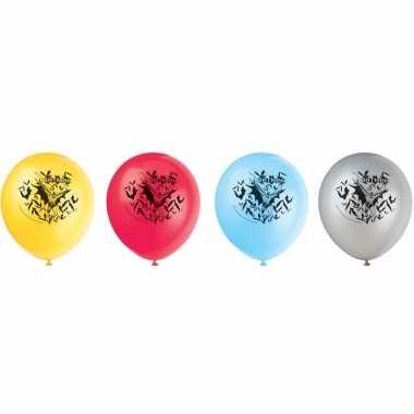 8x batman themafeest ballonnen