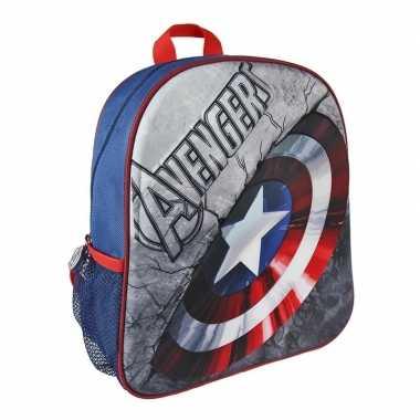 Avengers captain america 3d rugtasje voor kinderen