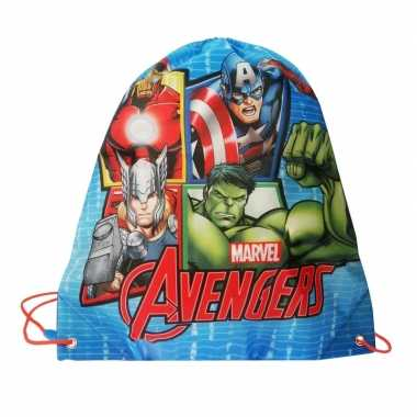 Avengers gymtas voor kinderen 44 cm