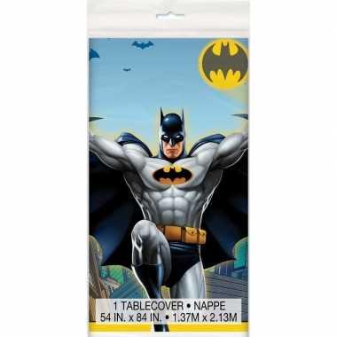 Batman themafeest tafelkleed 137 x 213 cm
