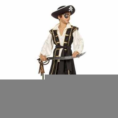 Bruin piraten kostuum voor jongens