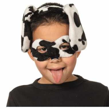 Dalmatier masker en tiara voor kinderen