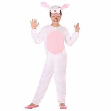 Dierenpak konijn/haas verkleed kostuum voor kinderen