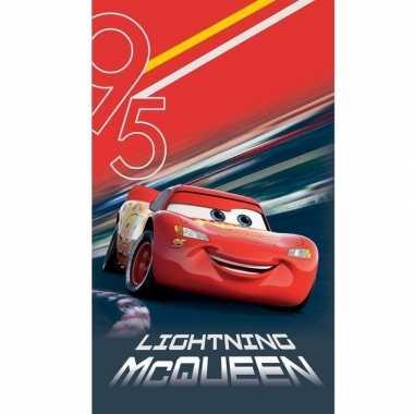 Disney cars lightning mcqueen badlaken/strandlaken 70 x 120 cm