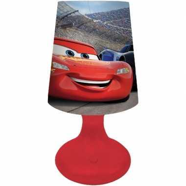 Disney cars nachtlampje 19 cm kleurwisselende led lamp