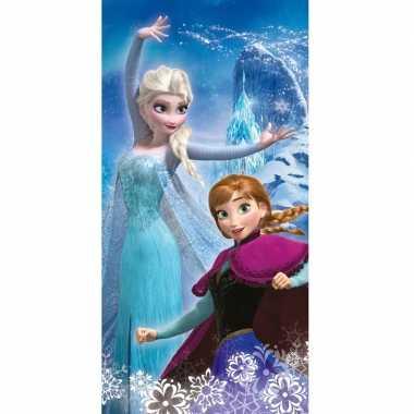Disney frozen elsa en anna badlaken/strandlaken 70 x 140 cm