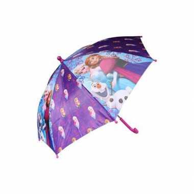 Disney frozen kinder paraplu paars