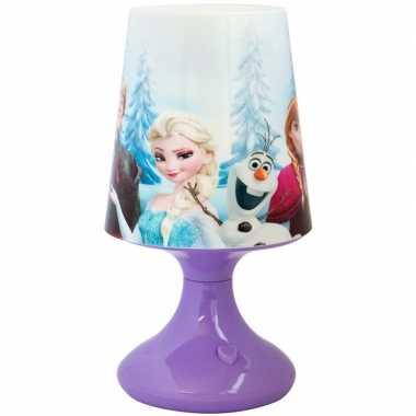 Disney frozen nachtlampje 19 cm kleurwisselende led lamp