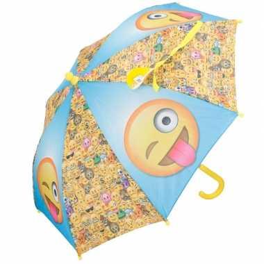 Disney kinder paraplu smileys 65 cm