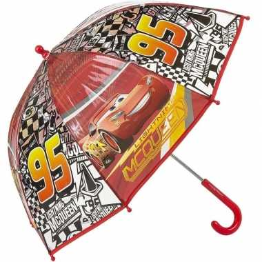 Disney kinderparaplu cars bliksem mc queen rood 45 cm