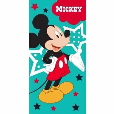 Disney mickey mouse badlaken/strandlaken 70 x 140 cm