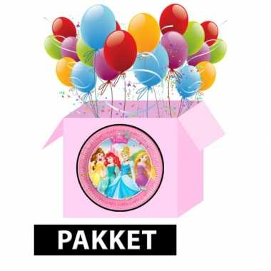 Disney prinses kinderfeest pakket