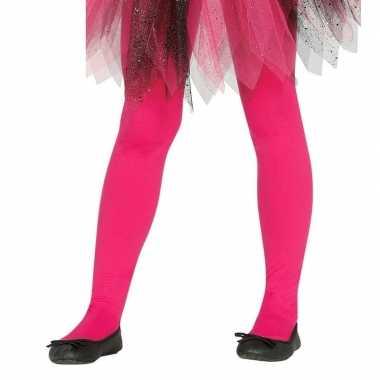 Fuchsia roze panty 15 denier voor meisjes