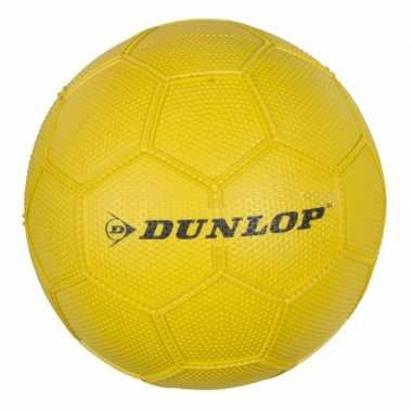 Gele speelgoed voetbal maat 3 voor kinderen