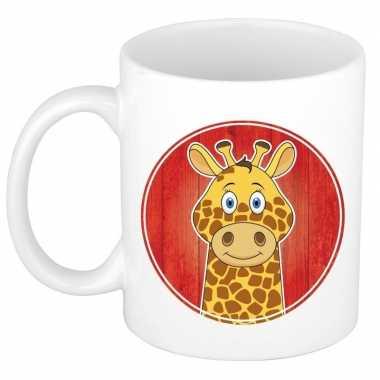 Giraffe mok / beker voor kinderen 300 ml