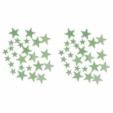Glow in the dark sterren 48 stuks