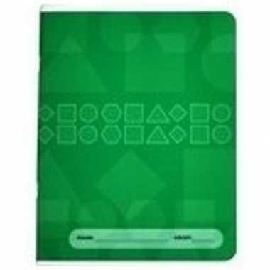 Groen basisschool oefenschrift a5
