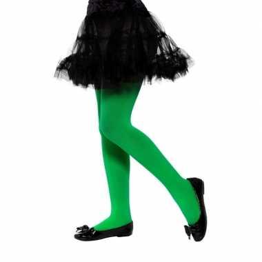 Groene legging voor kinderen 6-12 jaar