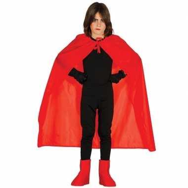 Halloween - rode halloween verkleedcape voor kinderen