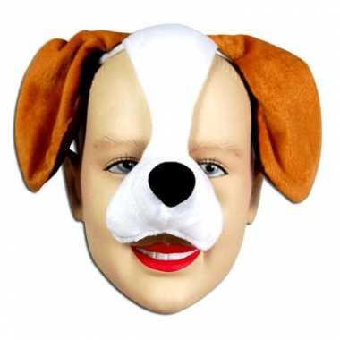 Honden diadeem masker met geluid