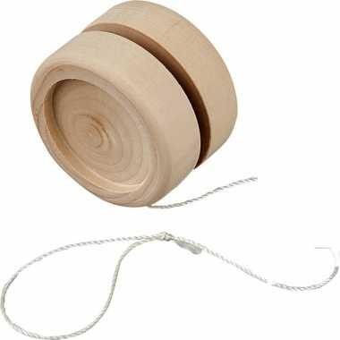 Jojo om te schilderen/versieren van hout 5 cm
