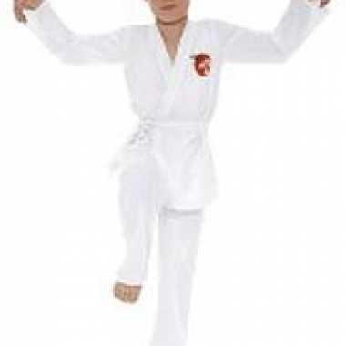Karate kid kostuum voor kinderen