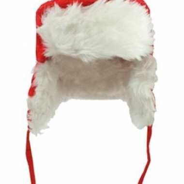 Kerst ijsmuts van pluche voor kinderen