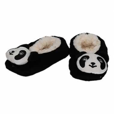 Kinder dieren pantoffels/slofjes panda