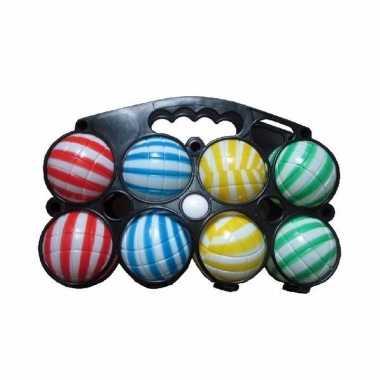 Kinder jeu de boules set gestreept