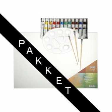 Kinder schilder pakket