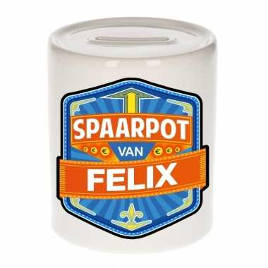 Kinder spaarpot voor felix