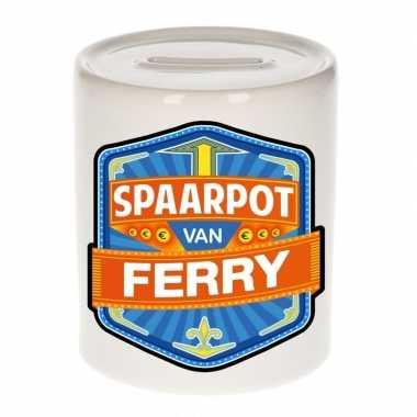 Kinder spaarpot voor ferry