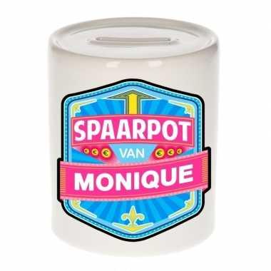 Kinder spaarpot voor monique