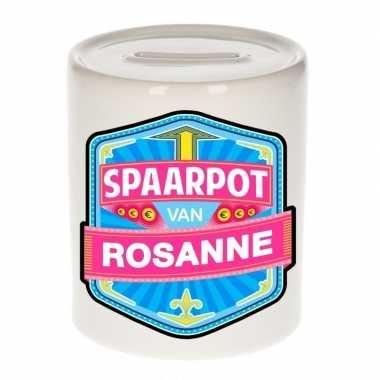 Kinder spaarpot voor rosanne