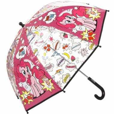 Kinderparaplu my little pony pinkie pie roze 45 cm