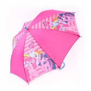 Kinderparaplu my little pony roze 45 cm